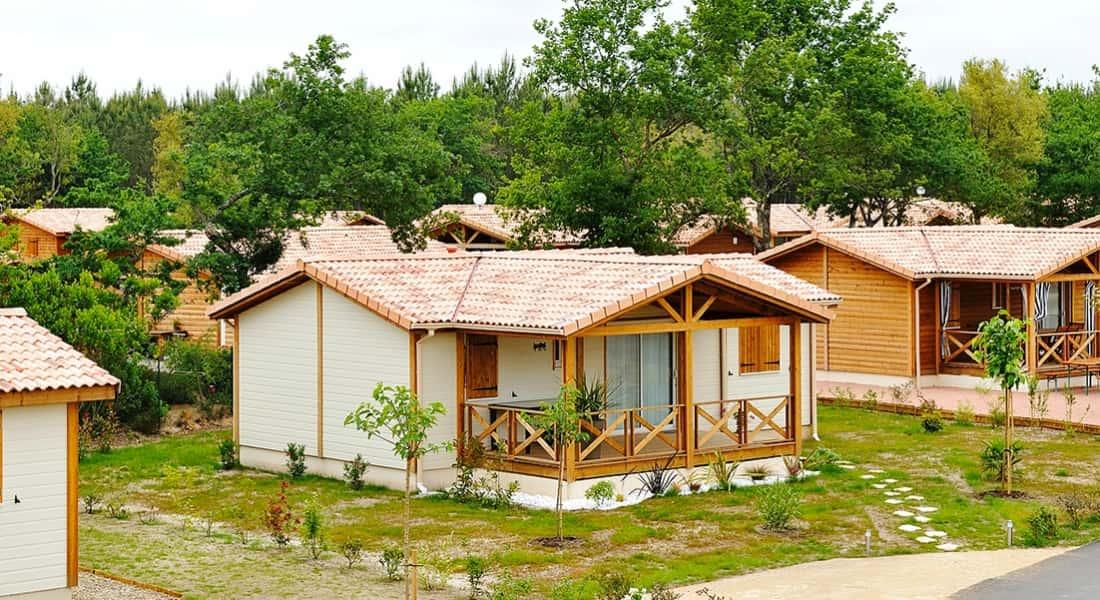 Le clos d'Arguins - residence de loisir en bois
