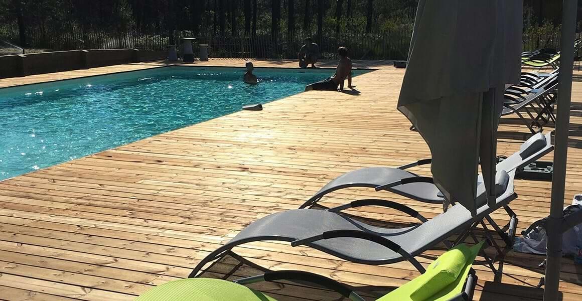 nature et residence parc résidentiel de loisirs avec piscine