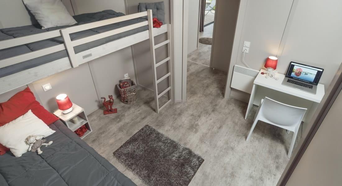 Lit double résidence secondaire achat dans les Pyrénnées