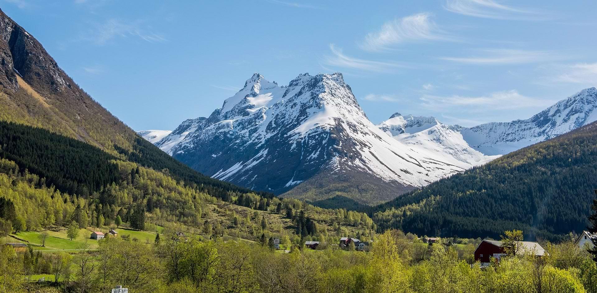 Parc résidentiel de loisirs à la montagne