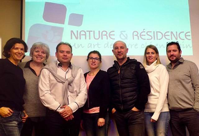 l'équipe de nature et résidence