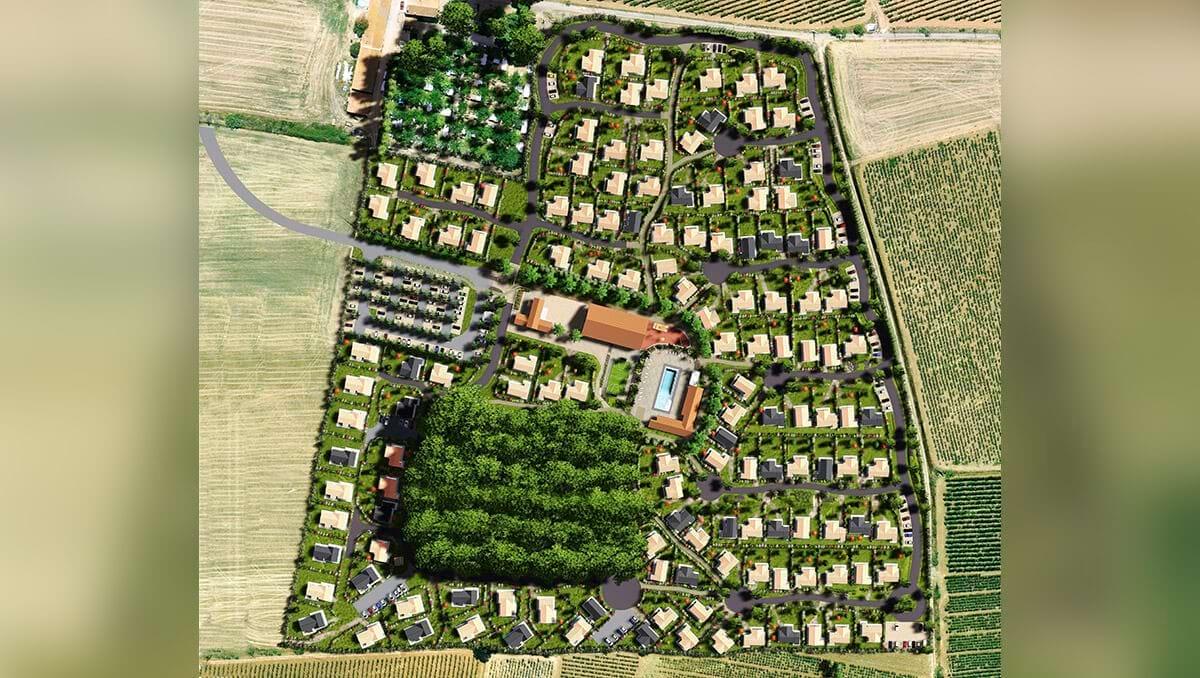 Plan géneral Domaine Grenatiere