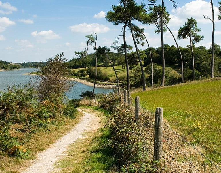 Domaine du Près campagne lac