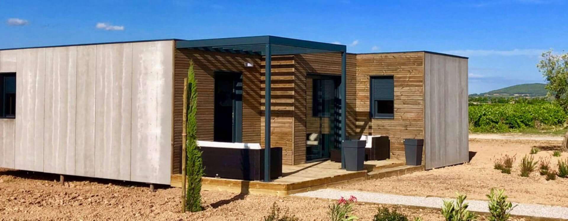 maison en bois nature et residence